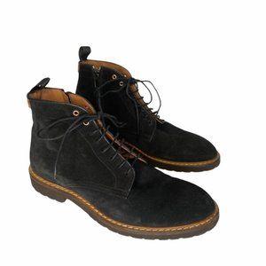 Good Man Brand suede lace up boot dark grey sz 8